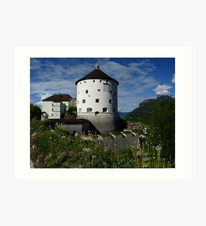 Kufstein Fortress - Austria Art Print