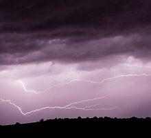 Lightning Across the Sky by William C. Gladish, World Design