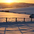 Sunset over Bowmont by Christine Hingley