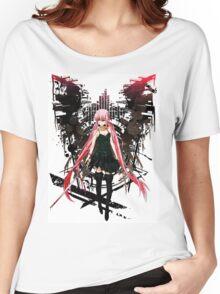 Gasai Yuno Anime Future Desolation Anime T-shirt Women's Relaxed Fit T-Shirt