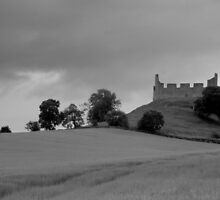 Hume castle by Christine Hingley