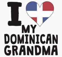 I Heart My Dominican Grandma Kids Tee
