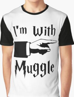 I'm With Muggle Graphic T-Shirt