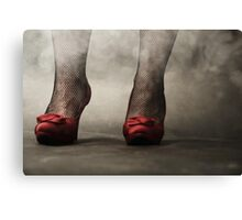 red shoes I Canvas Print