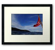 Coast of Mann Framed Print