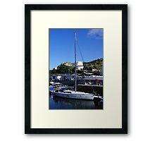 Sailing for Disabled IOM Framed Print