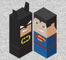 Batman vs Superman - Bat Block Vs Super Block! by BlazeComics