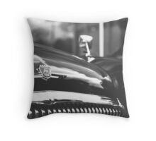 Volga front detail Throw Pillow