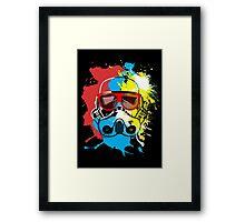 Party Trooper Framed Print