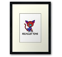 recycled toys Framed Print