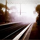 melbourne... fragments: early morning train station by sebastian