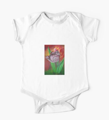 Two Tulips One Piece - Short Sleeve