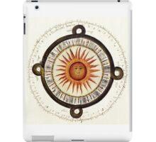 Aztec Sun Calendar iPad Case/Skin