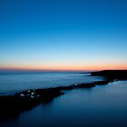 Dawn on Qawra bay - Malta by Alvise Busetto