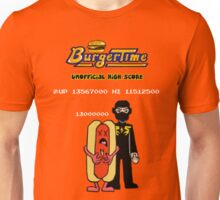 Ninja Brian's Burger Time High Score Unisex T-Shirt