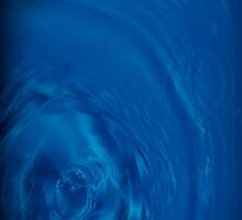 Blue water by Alvise Busetto