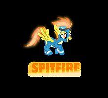 Spitfire iPhone case by Demlemon
