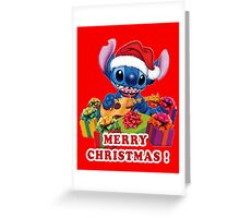 MERRY CHRISTMAS STITCH Greeting Card
