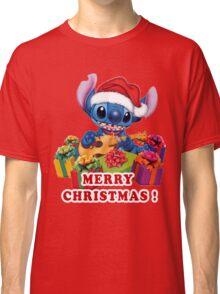 MERRY CHRISTMAS STITCH Classic T-Shirt