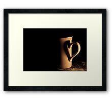Fancy a cup of tea/coffee? Framed Print