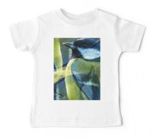 Designs Inspired By Nature: Great Tit Baby Tee