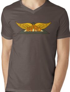 Avro Aircraft Company Logo Mens V-Neck T-Shirt