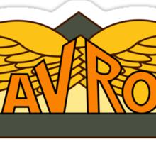 Avro Aircraft Company Logo Sticker