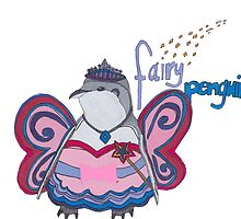 Fairy Penguin by matildabishop