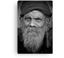 A Wise Man on the Street Canvas Print