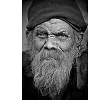 A Wise Man on the Street Photographic Print