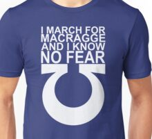I march for Macragge Unisex T-Shirt