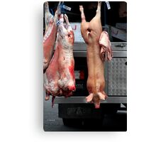 Easy Meat Canvas Print