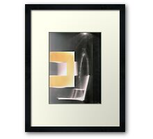 Walls and Windows 2 Framed Print