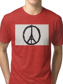 Paris Peace Tri-blend T-Shirt
