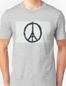 Paris Peace Unisex T-Shirt