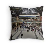 Commuters Throw Pillow