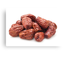 Chinese red dried dates Canvas Print
