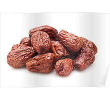 Chinese red dried dates Poster