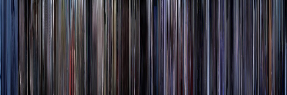 Moviebarcode: Space Cowboys (2000) by moviebarcode
