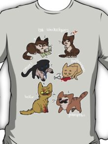 the winchestpurrs and their angels T-Shirt