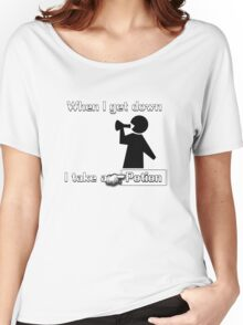 When I Get Down... Women's Relaxed Fit T-Shirt