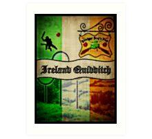 New Ireland Quidditch Art Print