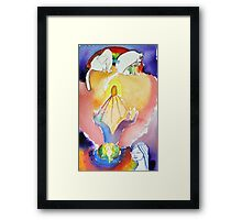Aligning with the I AM Presence Framed Print