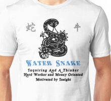 Chinese Year of The Water 1953 2013 Snake T-Shirt Unisex T-Shirt