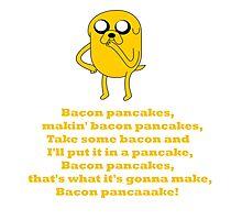 Jake - Bacon Pancakes Photographic Print