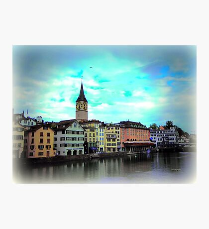 Colours on Limmat Photographic Print