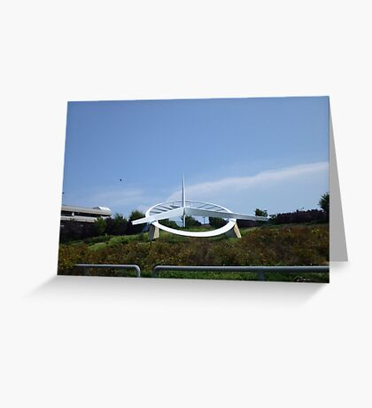 Airport Art Greeting Card