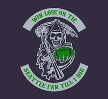 Win Lose Or Tie Seattle Fan Till I Die. T-Shirt