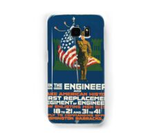 Join the engineers and make American history First replacement regiment of engineers Samsung Galaxy Case/Skin