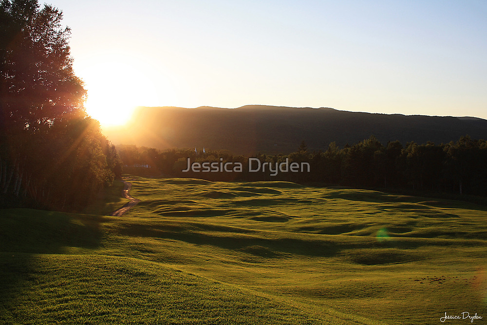 Rolling Fairways by Jessica Dryden